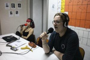 Joline et Alexandre anime l'émission