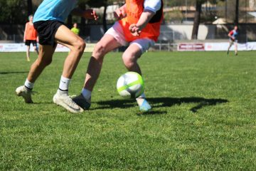 action au football